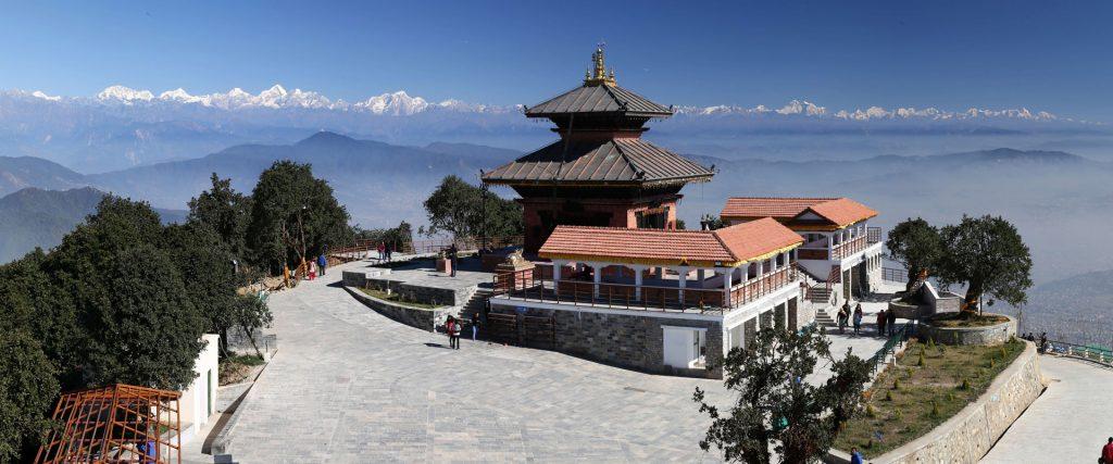 View from Chandragiri Hills