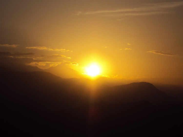 Sarangkot Sunrise from Pokhara
