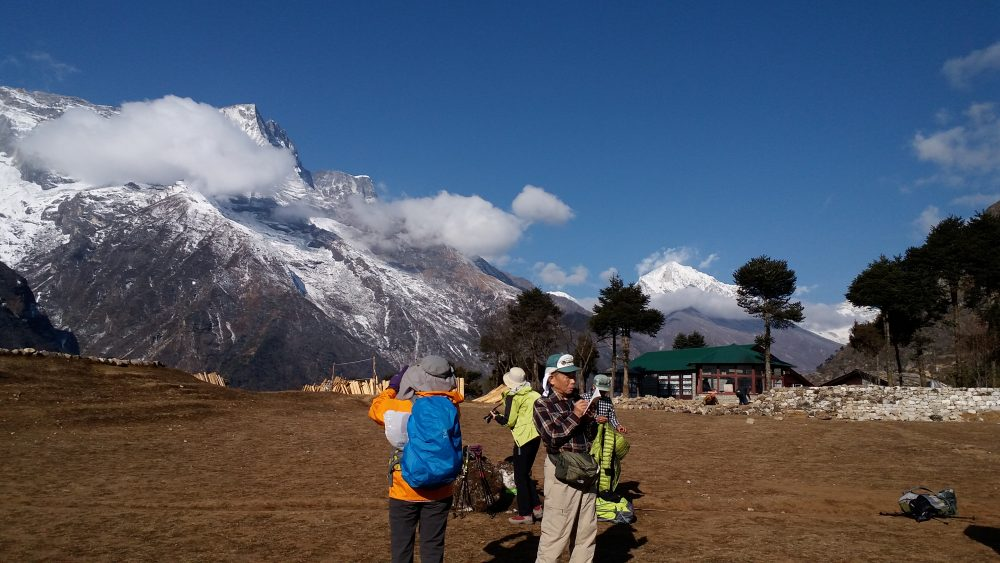 Family Adventure holiday to Mount Everest-Namche Bazaar(3440 m)