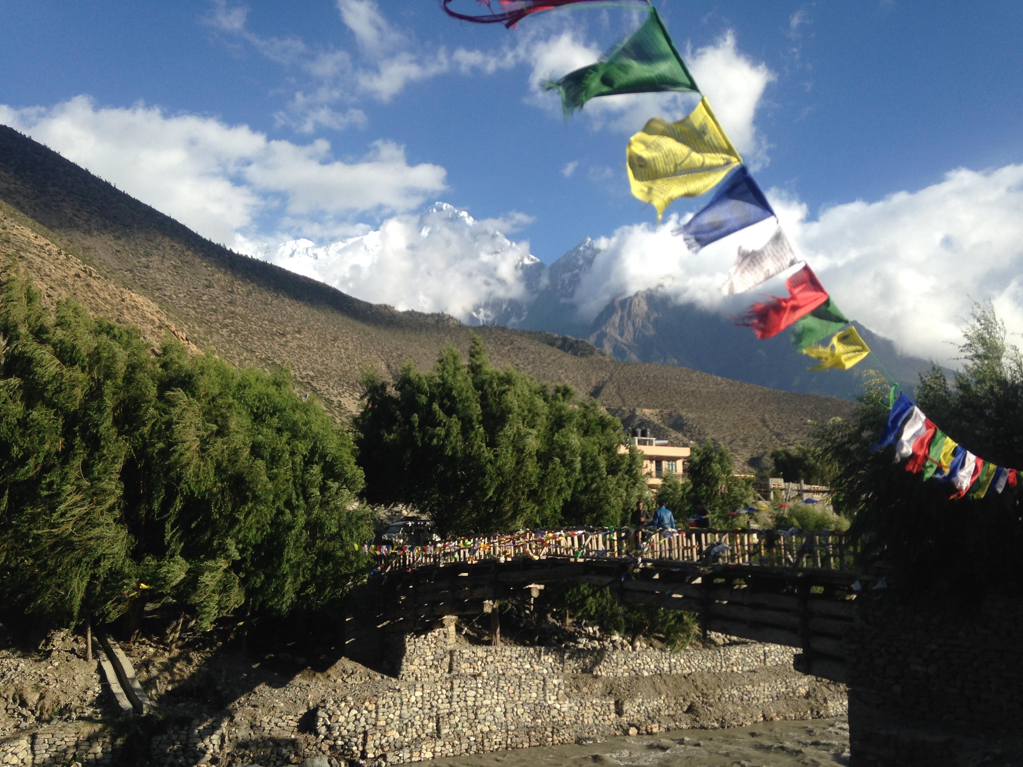 Jomsom Village - Annapurna circuit trek 10 days
