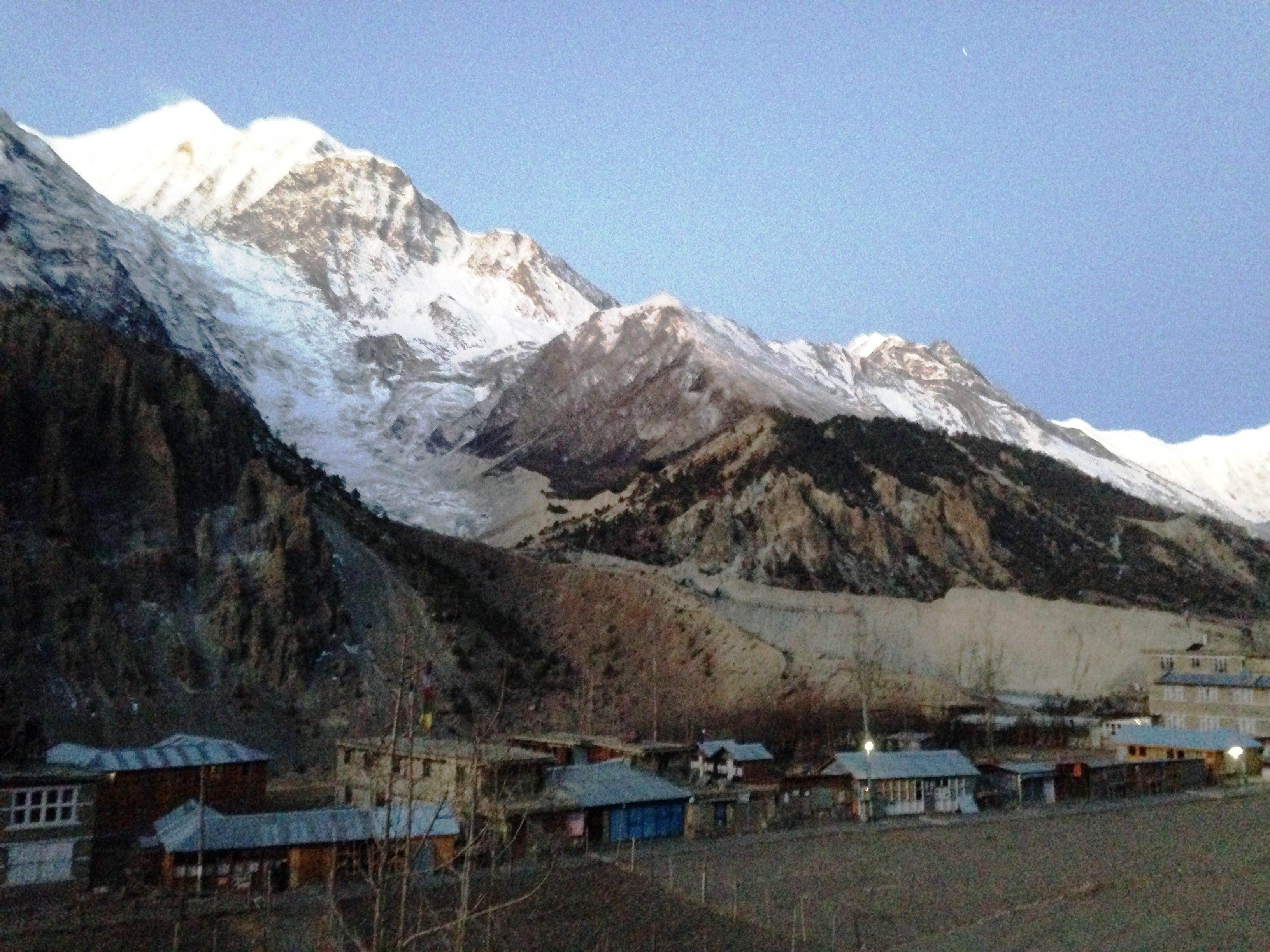 Manang  Village - Annapurna circuit trek 10 days
