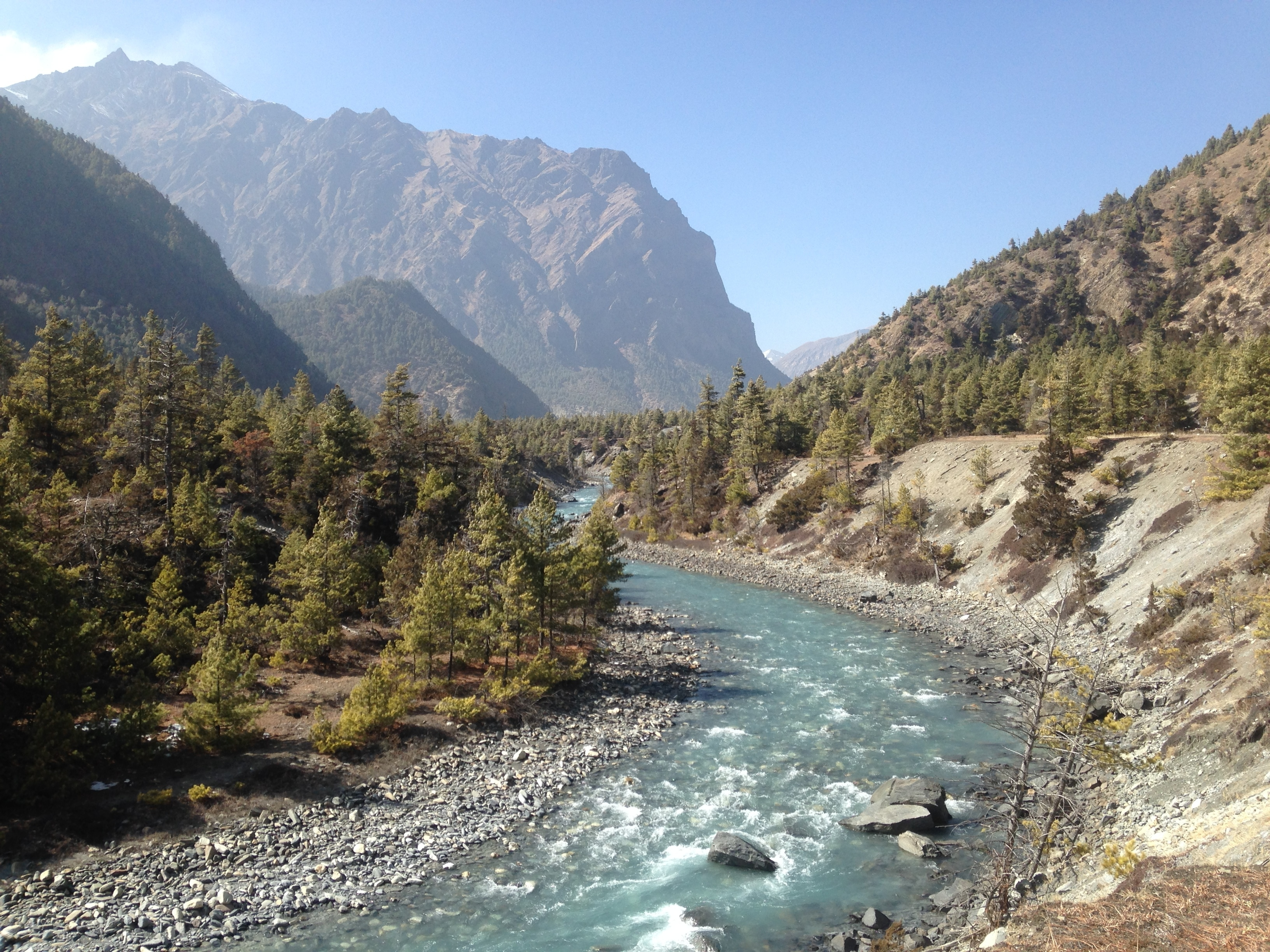 Marshyangdi River - Annapurna circuit trek 10 days