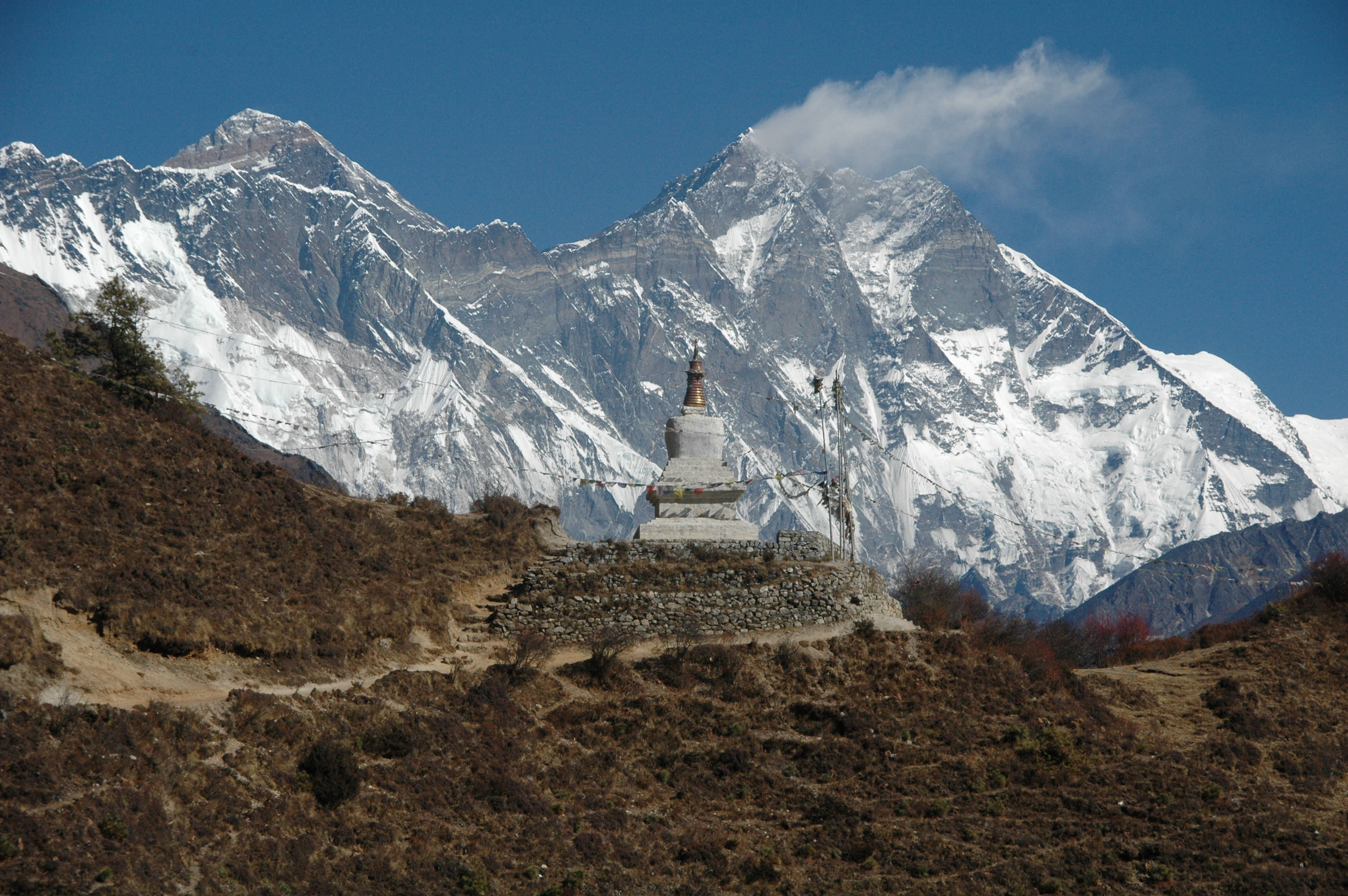 Mount Everest (8848m/29029ft)