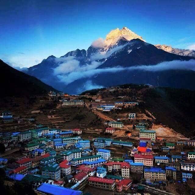 Namche bazaar trek | Namche bazaar Nepal | Lukla namche ...