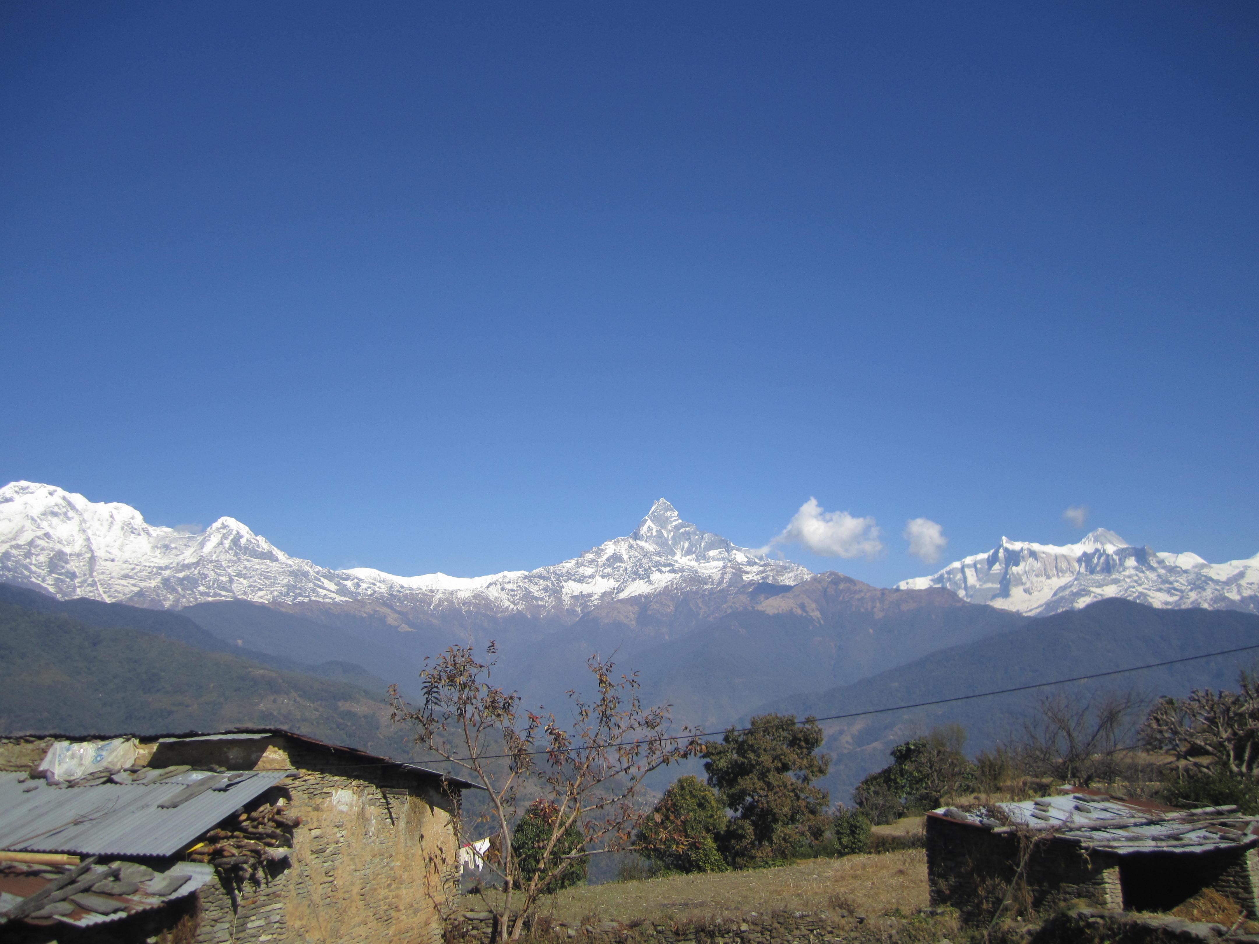 Dhampus Lowang Home stay Trek- Dhampus Village