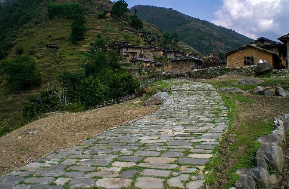The Guerilla Trek Brief Exploration 25 Days- village
