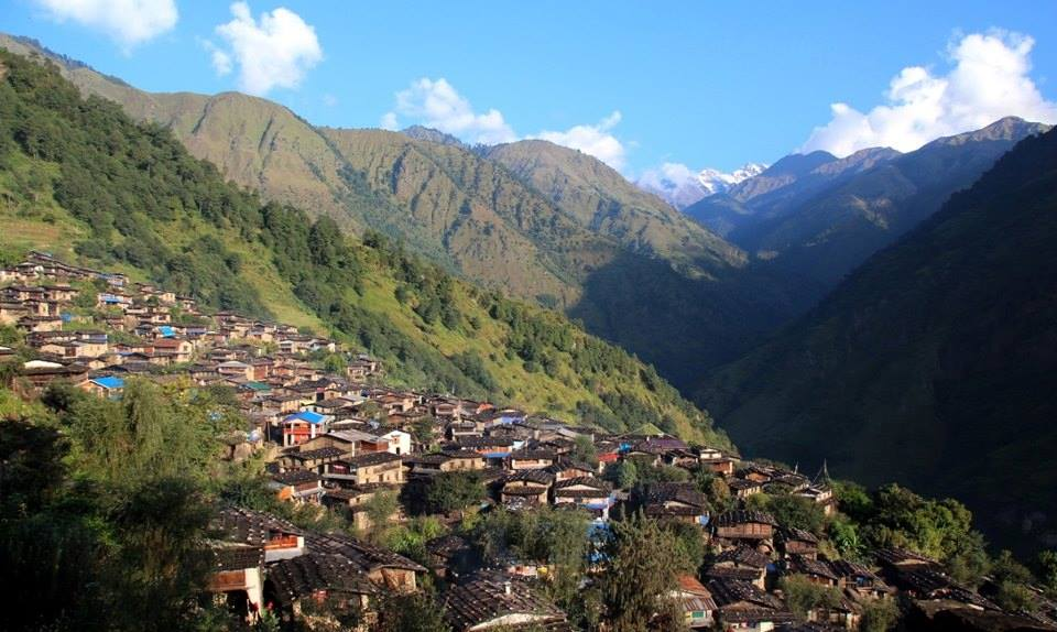 Lower Manaslu Eco Trek Lapark village
