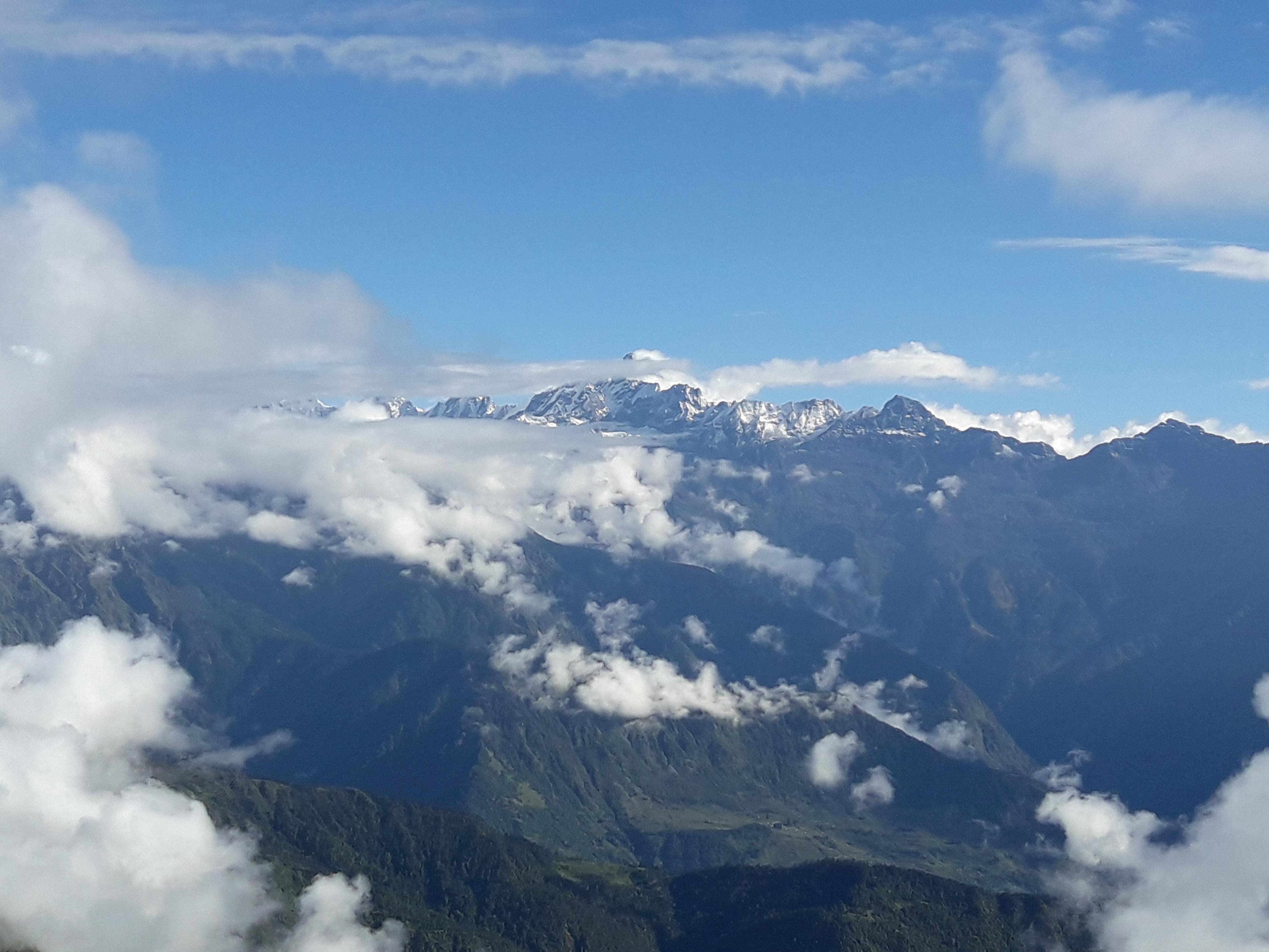 Kalinchowk Trek - Gauri Shankar Mountain Range