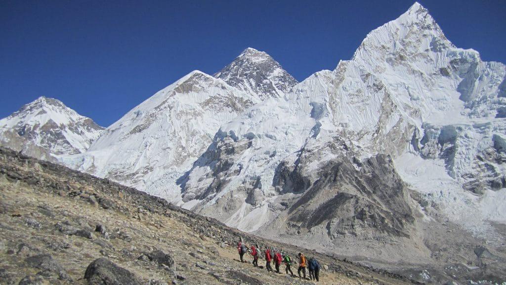 Mt Everest from Kalapatthar