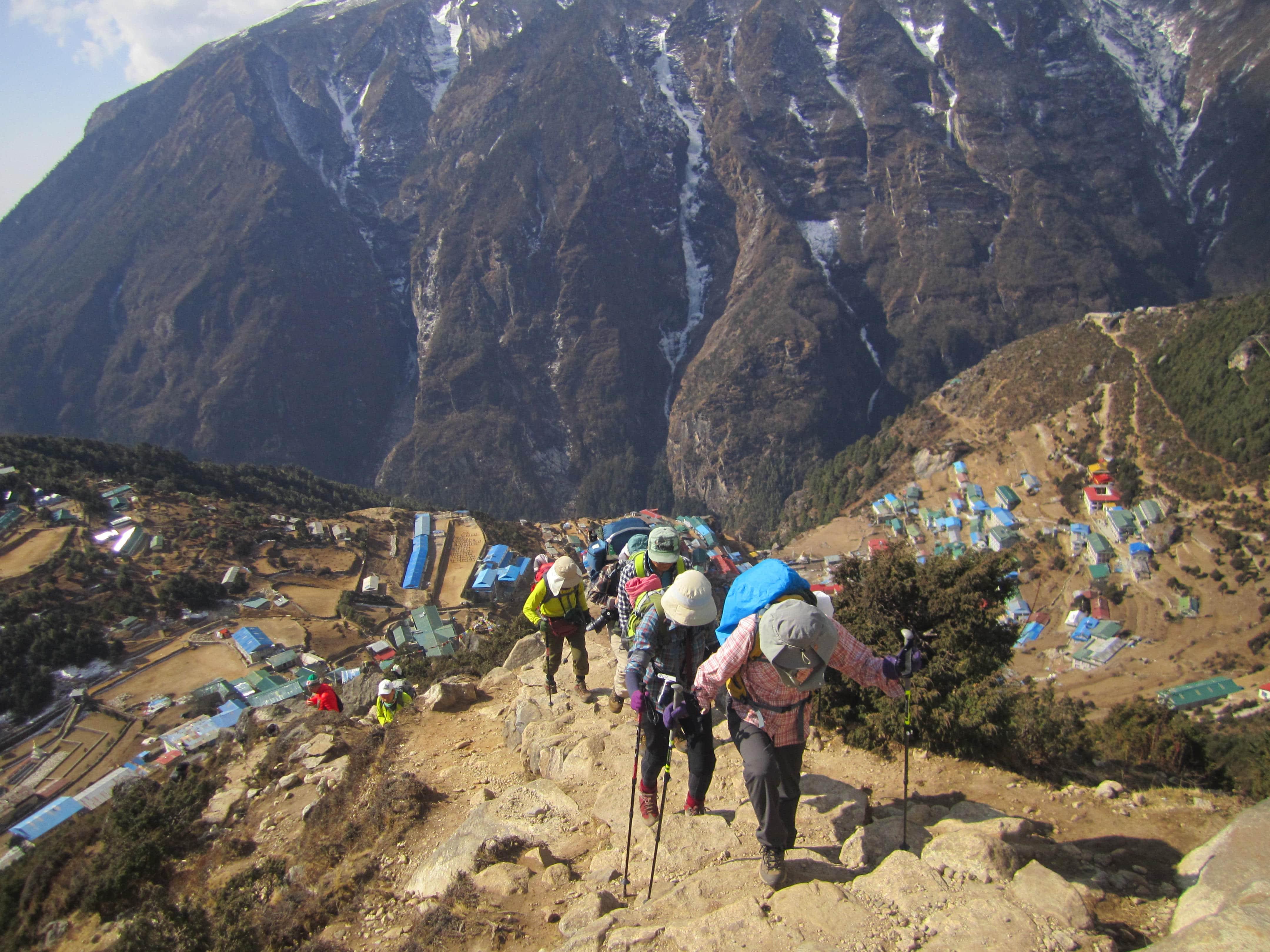 Khumbu valley trekking - Namche Bazaar
