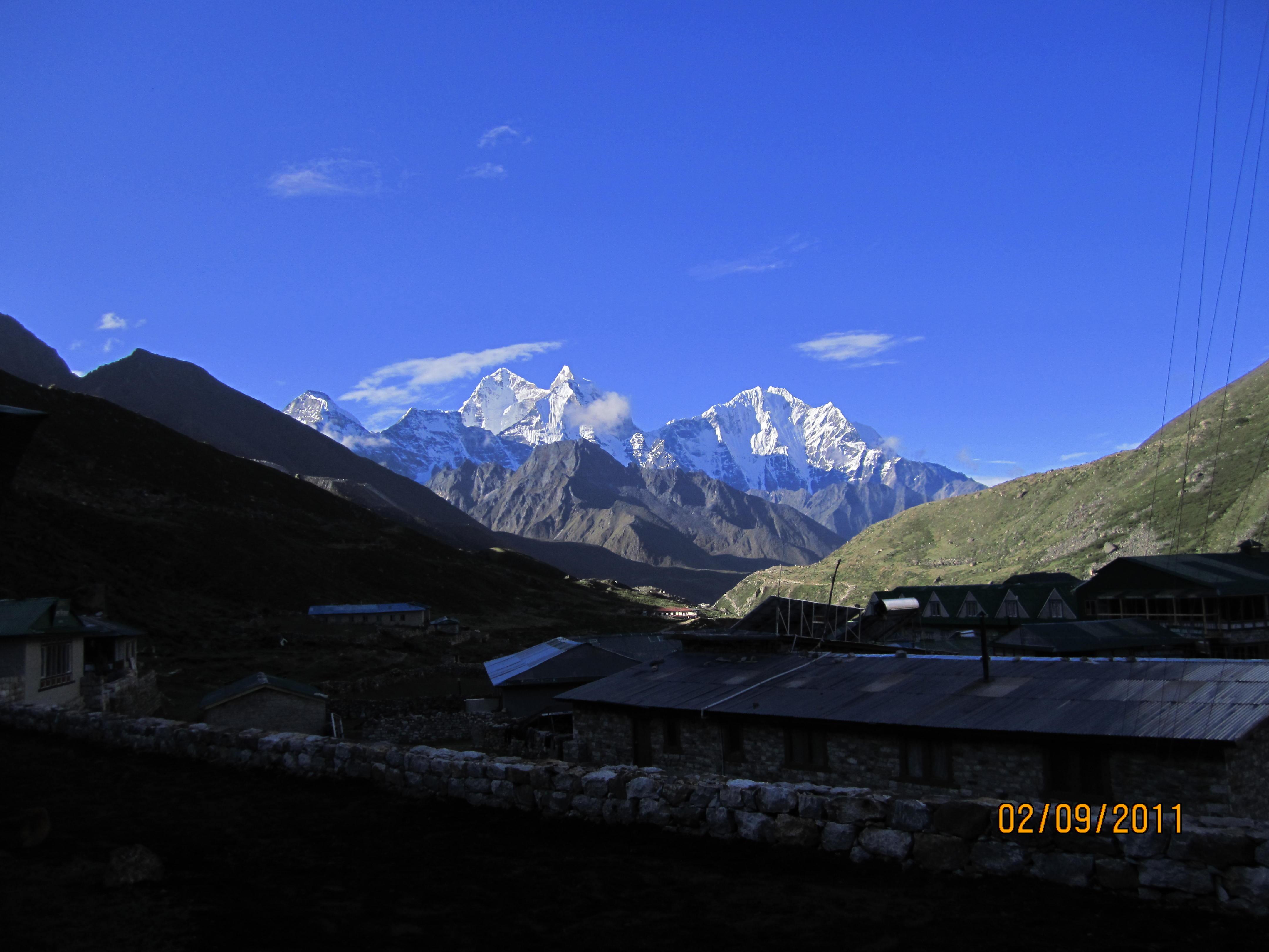 Khumbu valley trekking - Pheruche Village