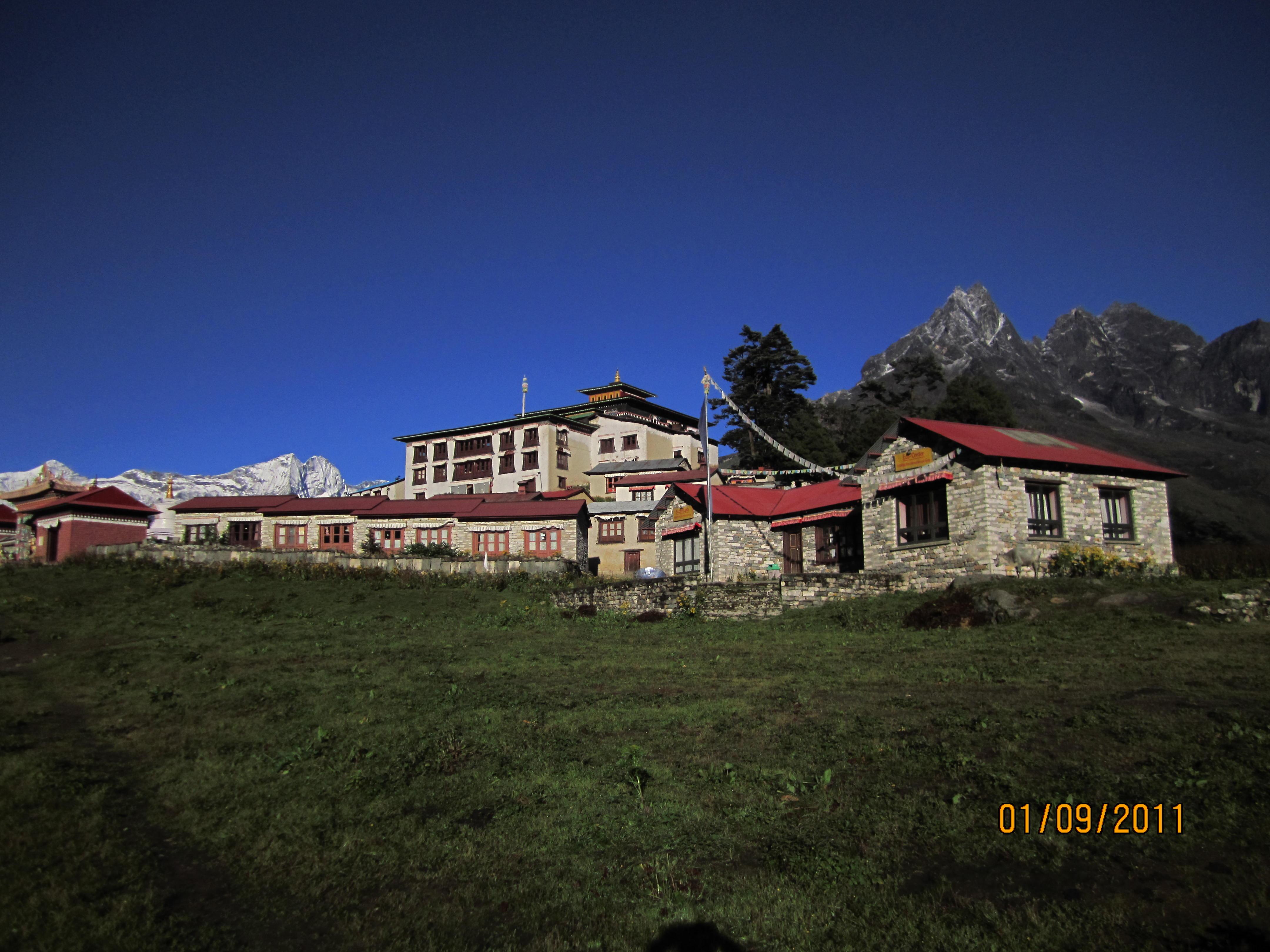 Khumbu valley trekking - Tengboche Monastery
