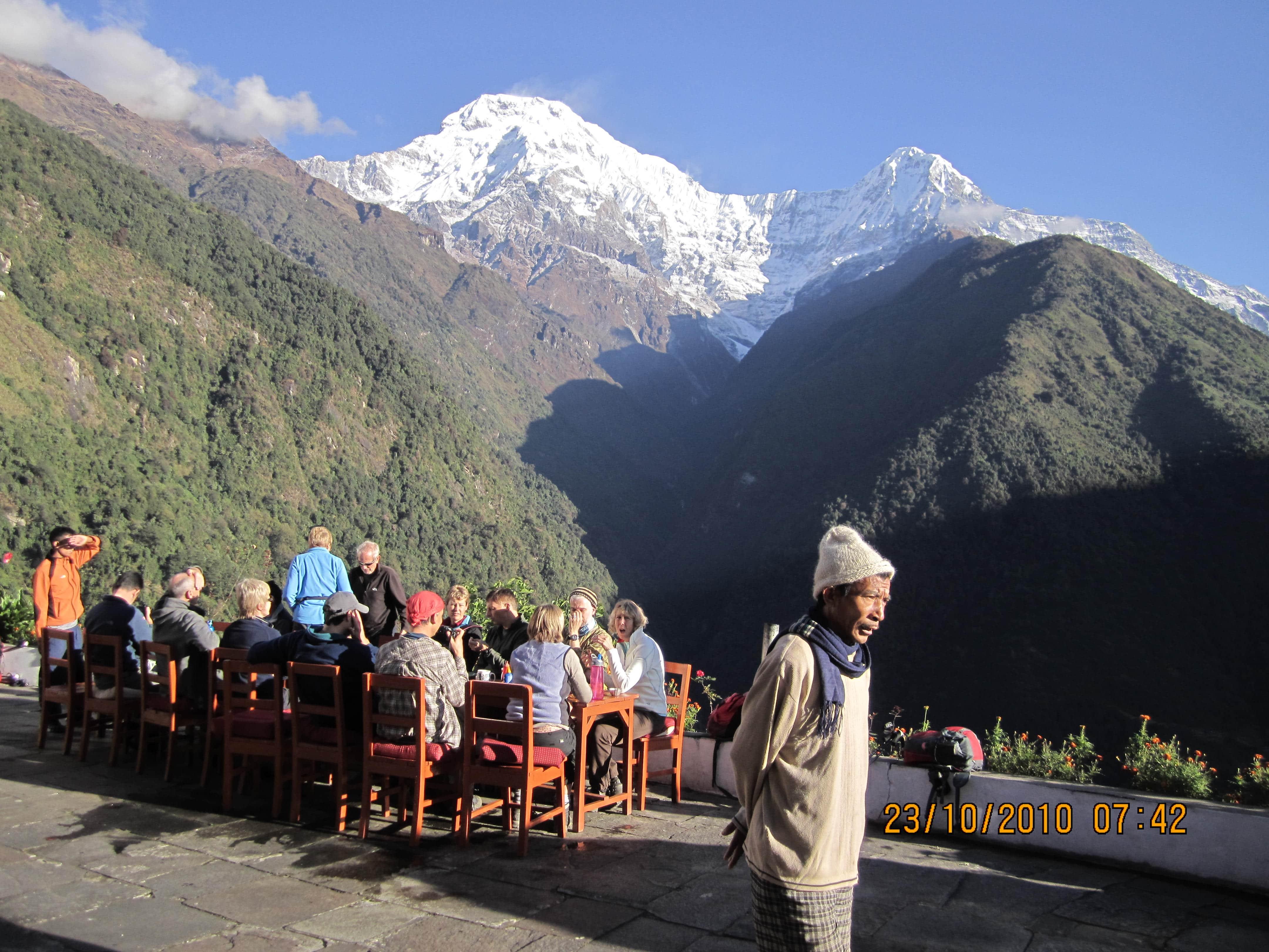 Annapurna view trek- Chomrong Village