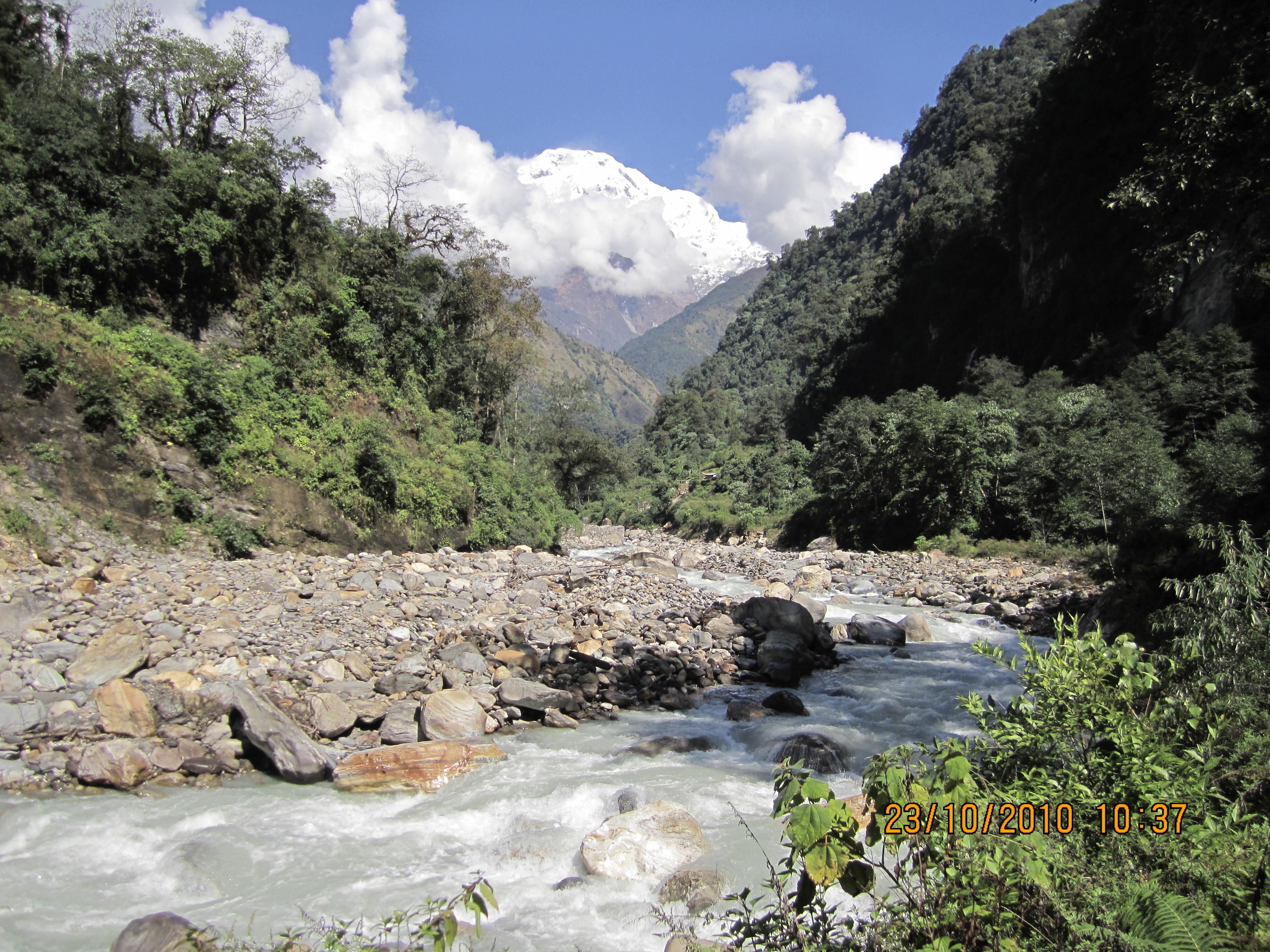 Annapurna view trek- New Bridge