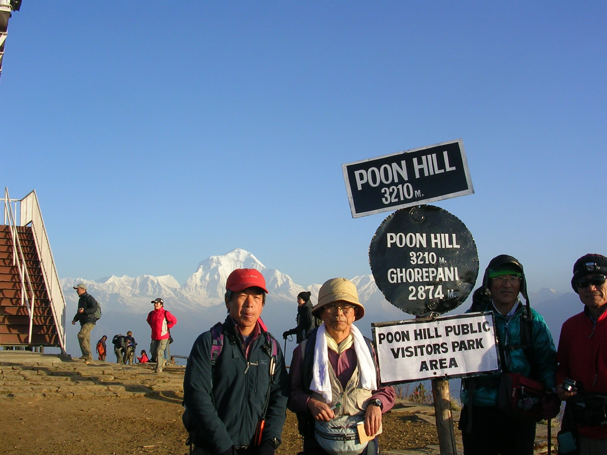Annapurna sunrise trek- Poon hill in April