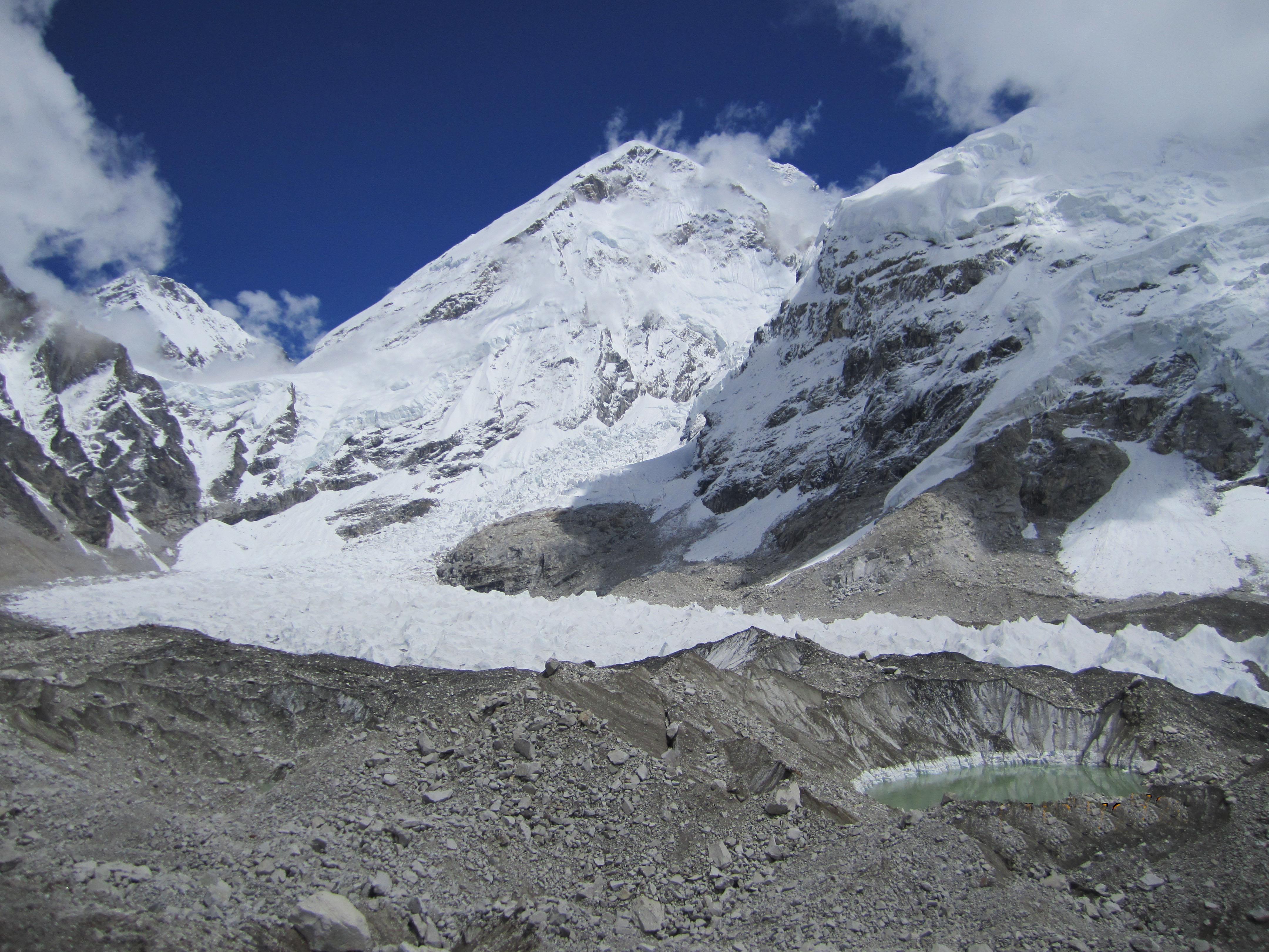 Mount Everest base camp -5364 m