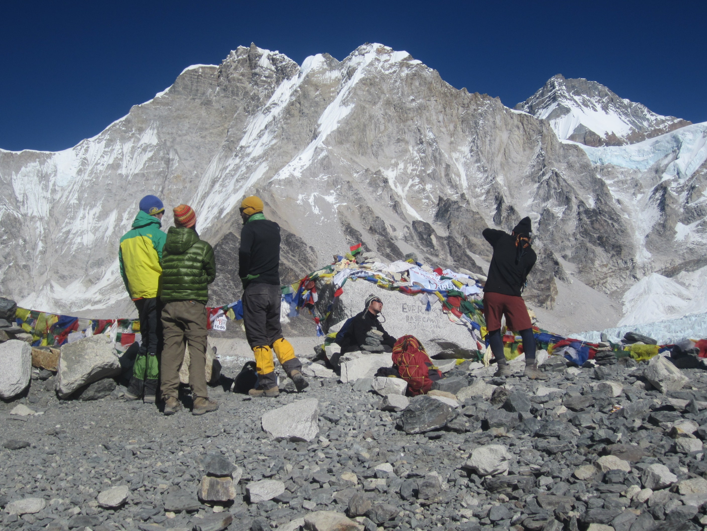 Kala Pattar Trek- Everest base camp 5364 m.