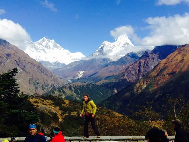Kala Pattar Trek- The mt everest view from Everest view hotel