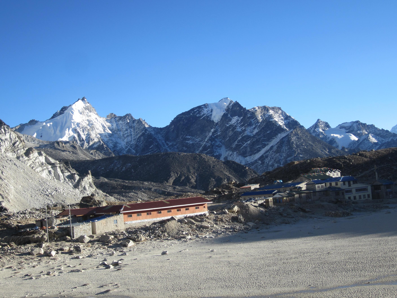 Kala pattar trek- Gorkhashep (5140m16859ft)