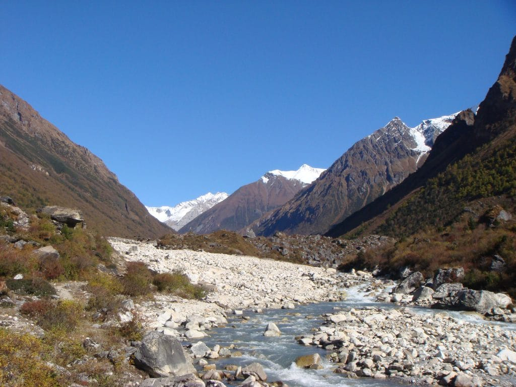 Manaslu circuit trek Nepal- Nearby Samagaon