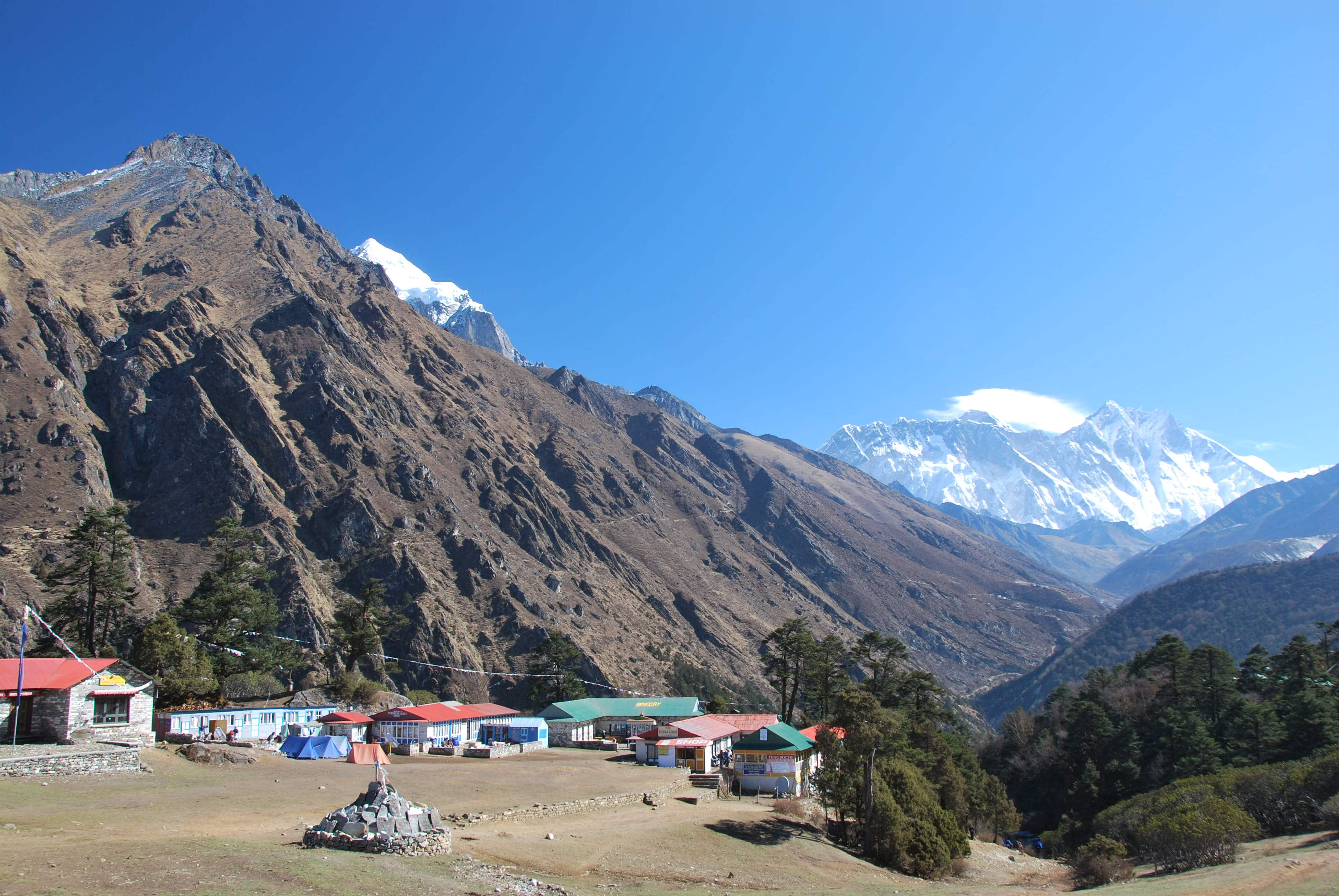 budget everest base camp trek- Tengboche Monastery