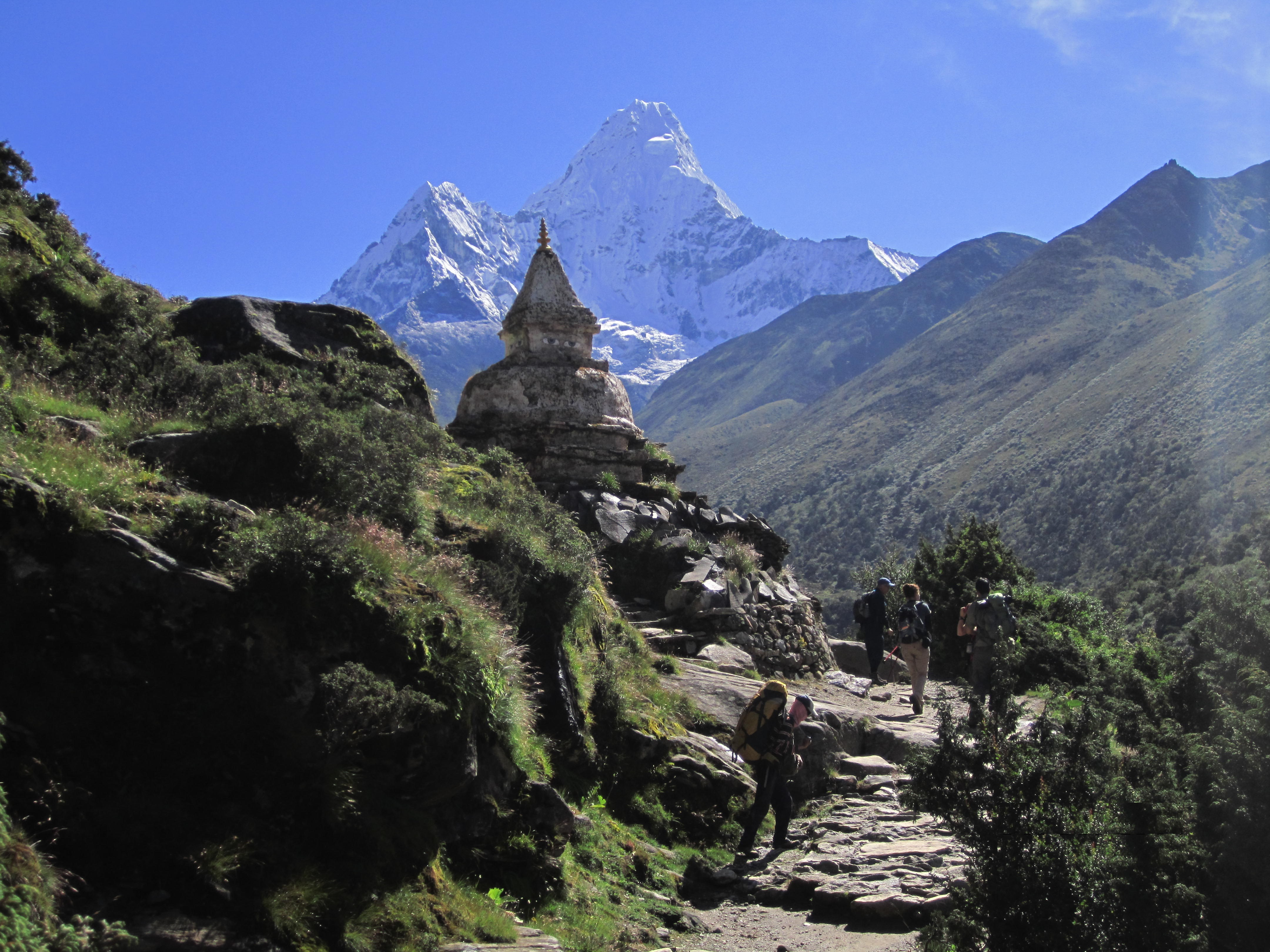 Mt. Amadablam as seen from Tengboche