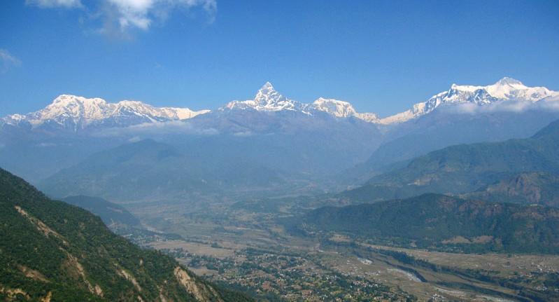 Best hikes in Nepal - Sarangkot hiking