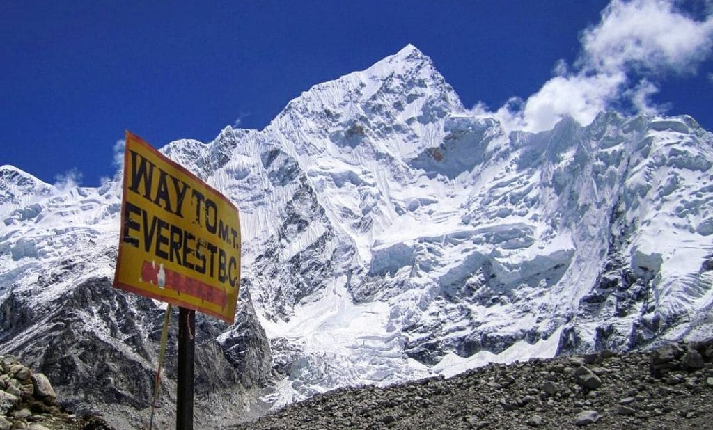 Best treks in Nepal - Everest Base Camp