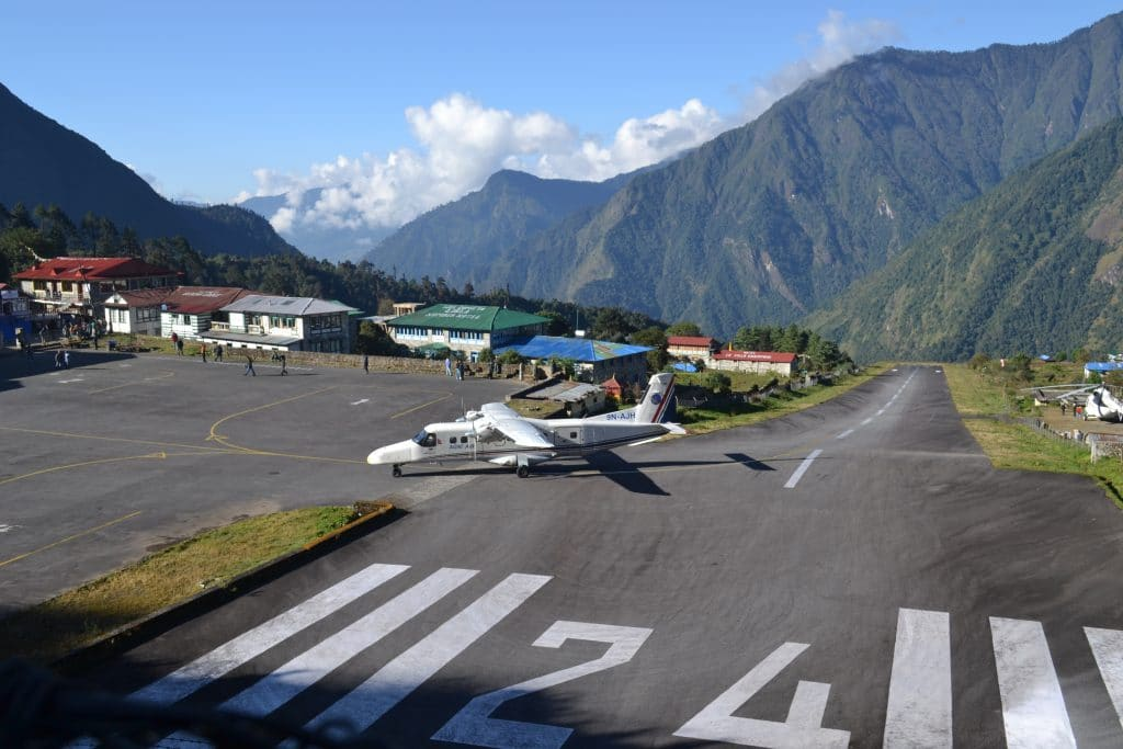 How long to trek to Everest Base Camp - Lukla Airport
