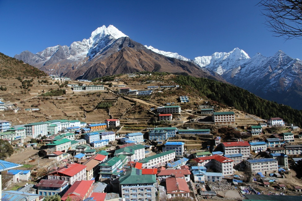 How long to trek to Everest Base Camp - Namche Bazaar