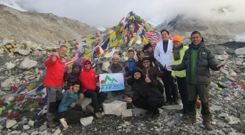 how long to trek to Everest Base Camp - EBC